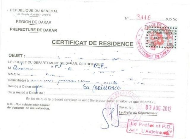 Eregulations Senegal